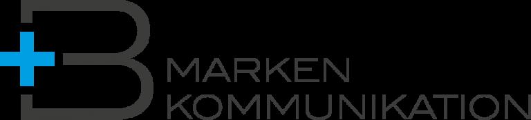 B+ Markenkommunikation logo in color